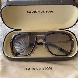 Louis Vuitton Black Noir Impulsion Sunglasses